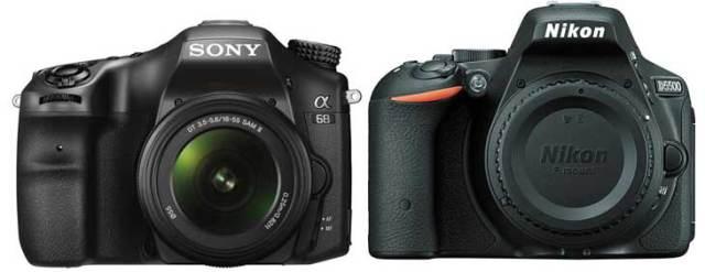 Sony-A68-vs.-Nikon-D5500