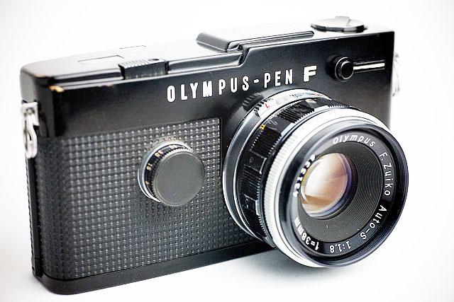 Olympus-PEN-F-digital-camer