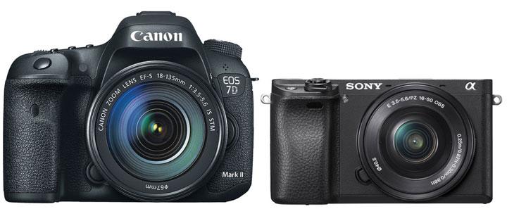 Canon 7D Mark II vs Sony A6300 image comparison