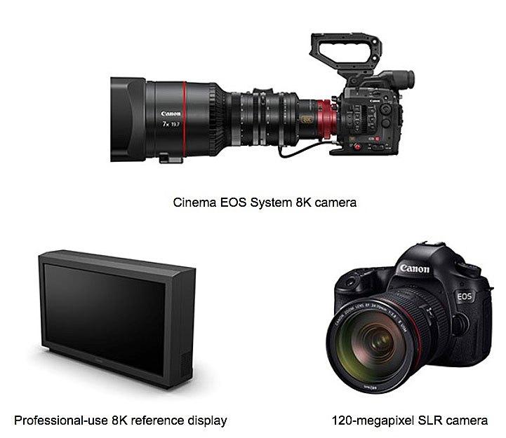 Canon 8K camera