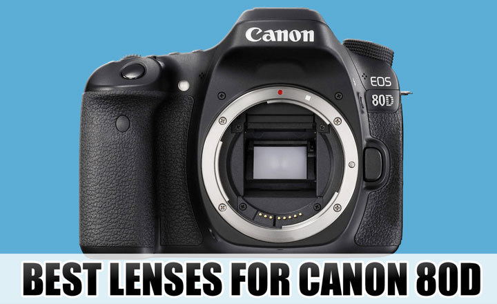 Best lenses for Canon 80D