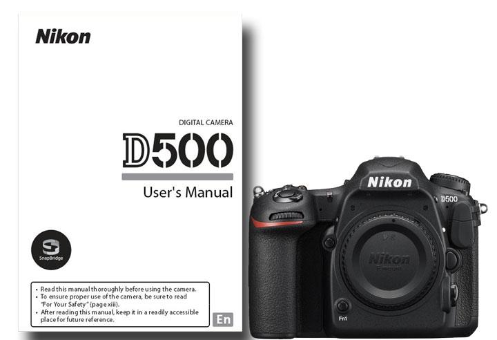 Download Nikon D500 User Manual