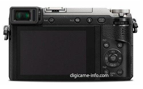 Panasonic GX80 back image