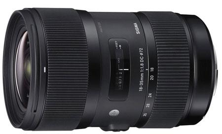 Sigma 17-35 F1.8 lens image
