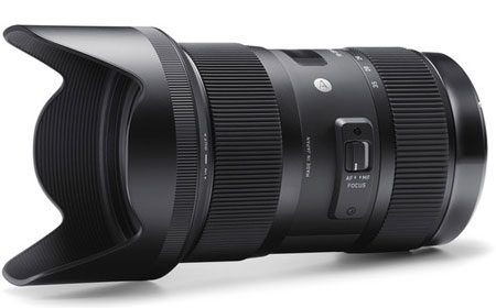 Sigma 18-35mm F1.8 Lens image