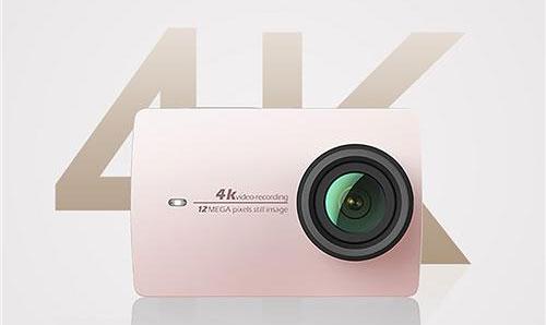 4k action camera image