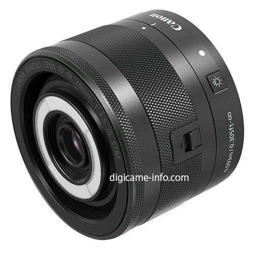 Canon 28mm Macro Lens for Mirrorless