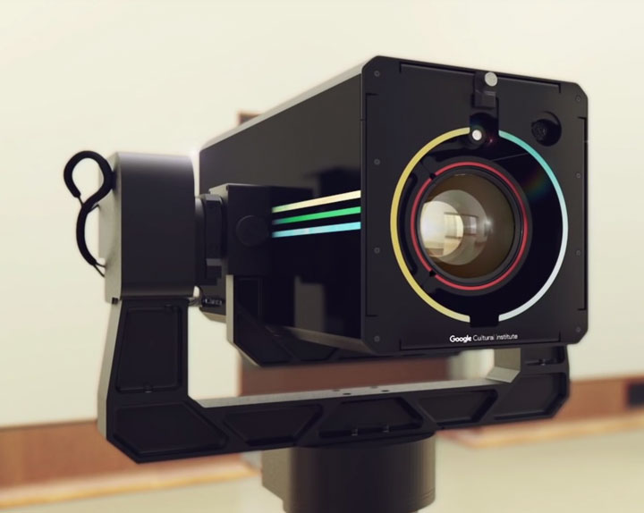 Google art camera image