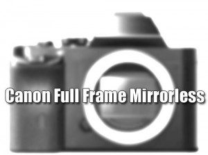 Canon mirrorless system camera image