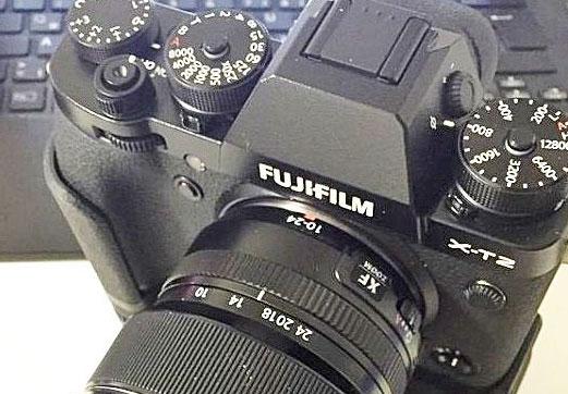 Fuji X-T2 image laked
