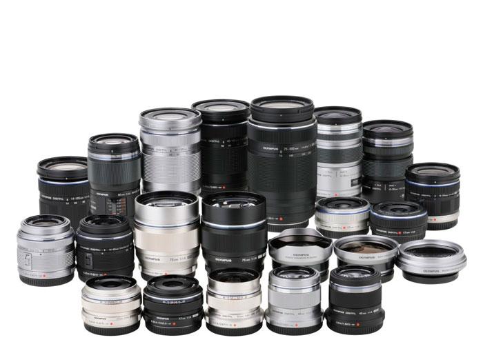 OIlympus pro lenses