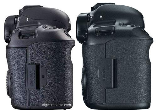 Canon 5D Mark IV vs III