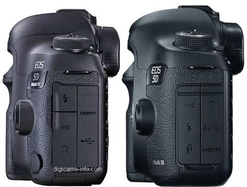 Canon 5D Mk IV vs 5D Mk III