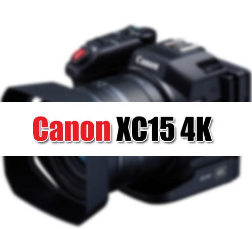 Canon XC 15 4K image