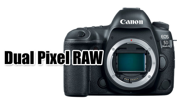 Dual pixel RAW
