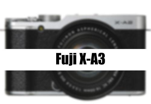 Fuji X-A3 image