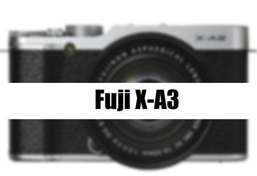 Fuji X-A3 coming soon image