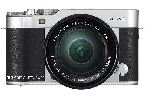 Fuji -XA3 image leaked
