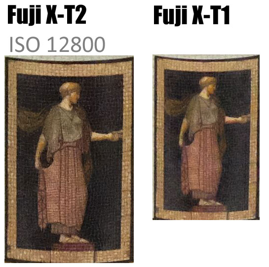 Fuji X-T2 vs Fuji X-T1 High ISO Test image