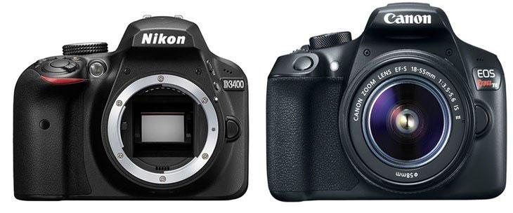 Nikon-D3300-vs-Canon-1300D-