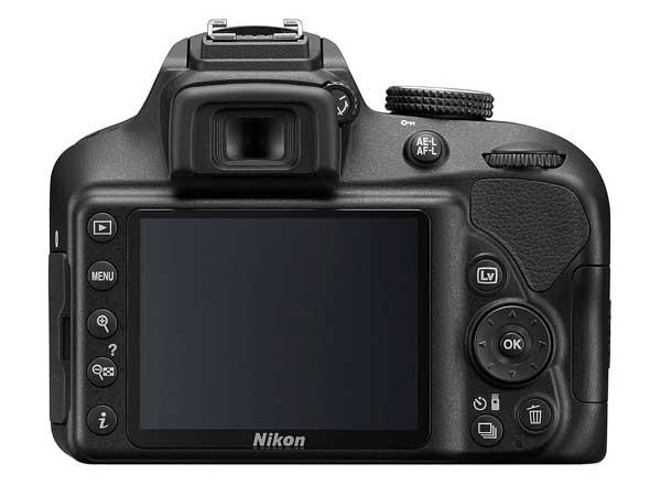 Nikon D3400 back image