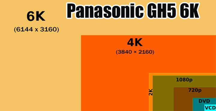Panasonic GH5 6K