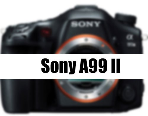 Sony A99II delayed