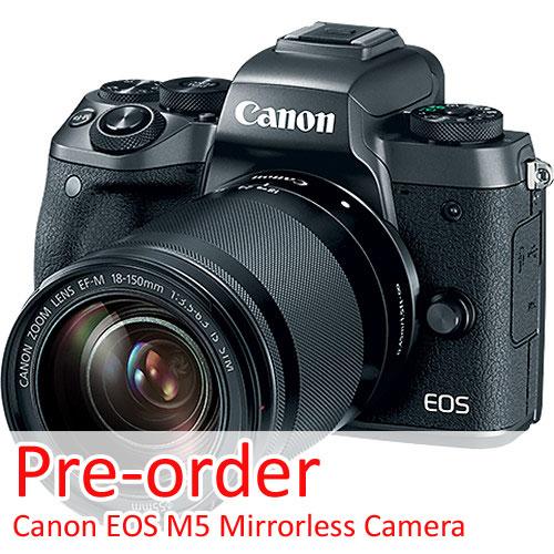 Canon EOS M5 pre-order image