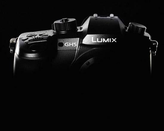 Panasonic GH5 announcement image