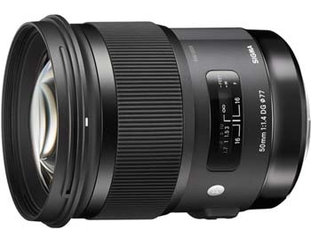 Sigma 50mm ART Lens image