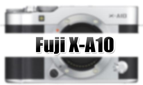Fuji X-A10 image