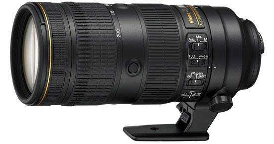 Nikon 70-200mm lens announced by Nikon on 10/19/2016