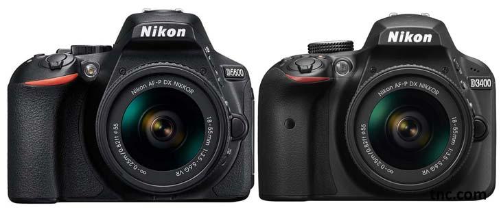 Nikon D5600 vs Nikon D3400 image