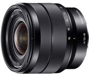 Sony Lens wide angle lens