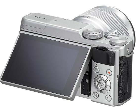 Fuji X-A10 back image