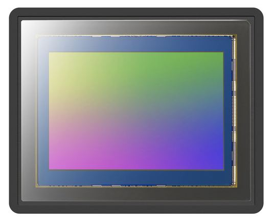 Sony A7R II and A99 II sensor image