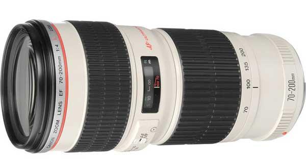 Canon 70-400mm F4L lens image