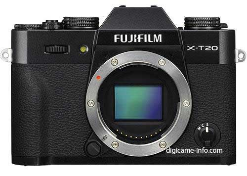 Fuji X-T20 front