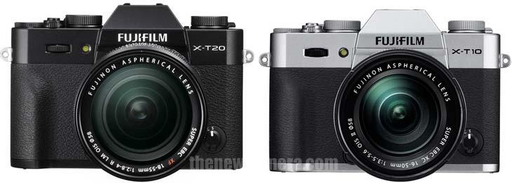 Fuji X-T20 vs X-T10