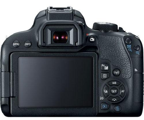 Canon 700D Back