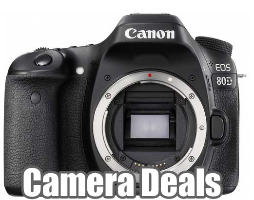 Canon 80D camera Deals
