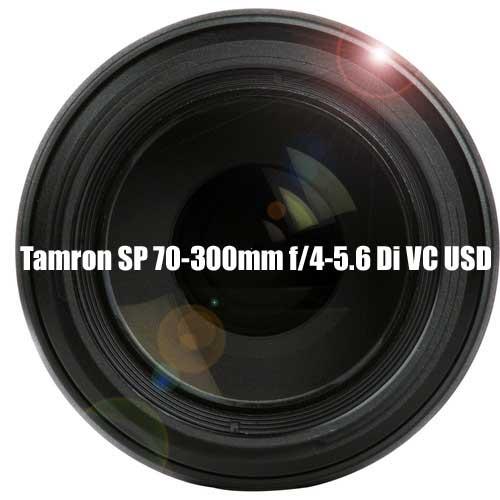 Tamron 70-300mm lens image