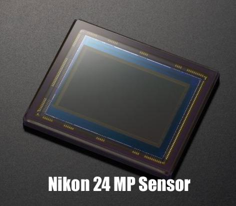 Nikon D5700 sensor image