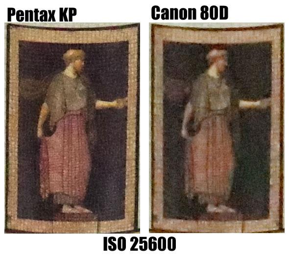 Pentax-KP-vs-Canon-80D ISO