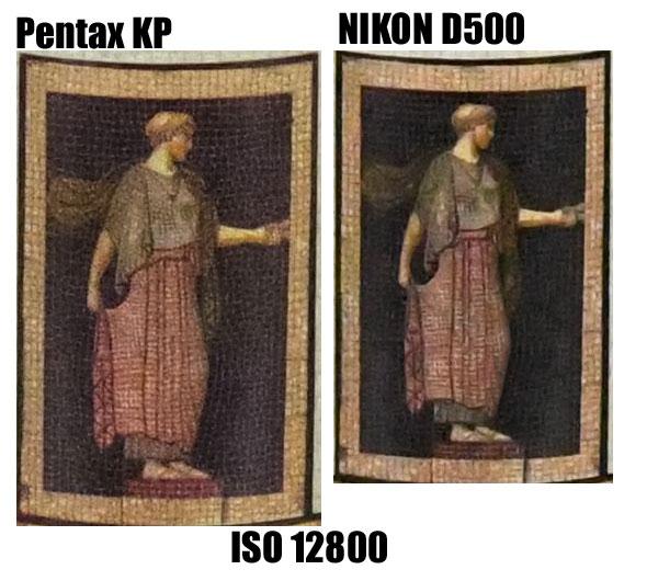 pentax KP vs D500