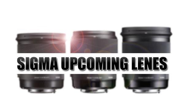 Sigma Upcoming Lenses image