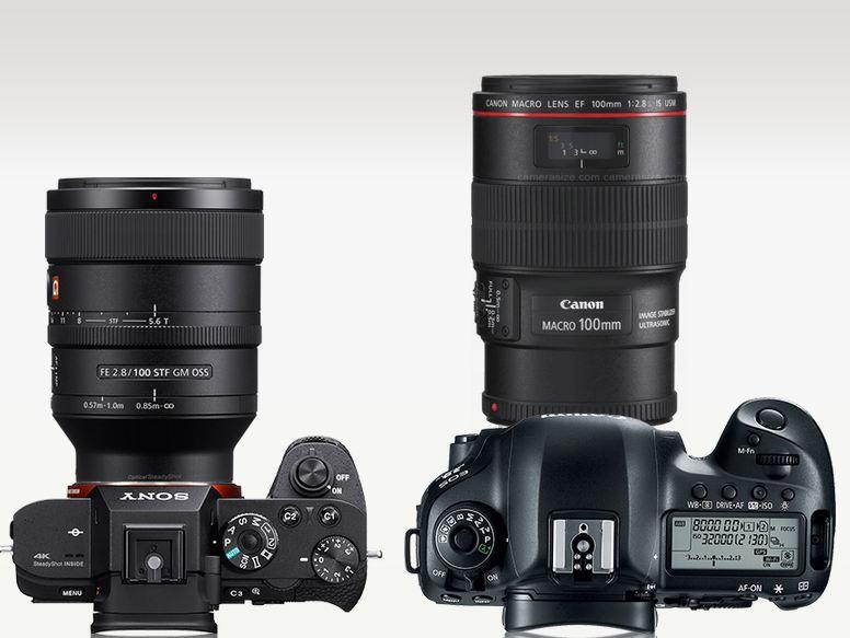 Sony 100mm lens image