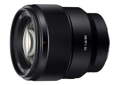 Sony 85mm lens image