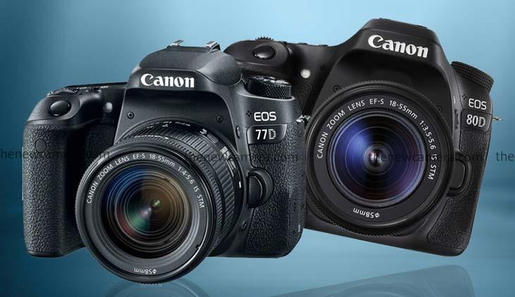Canon 77D vs Canon 80D