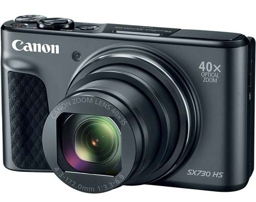 Canon 40X optical zoom